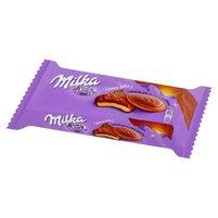 MILKA Choco Jaffa Biszkopty z pianką o smaku czekoladowym w czekoladzie