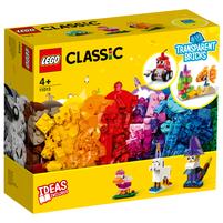LEGO Classic Kreatywne przezroczyste klocki 11013 (4+)