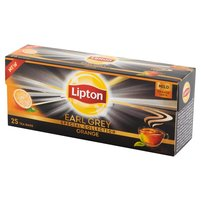 LIPTON Earl Grey Orange Herbata czarna (25 tb.)