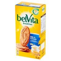BELVITA Breakfast Milk & Cereals Ciastka zbożowe (6x50g)