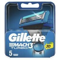 GILLETTE Mach3 Turbo Ostrza wymienne do maszynki do golenia