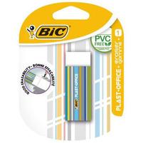 BIC Plast-Office Gumka do ścierania biała w osłonce