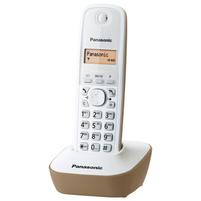 PANASONIC Telefon bezprzewodowy KXTG1611 Beżowy
