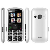 MYPHONE Telefon komórkowy Halo 2 biały