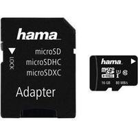 HAMA Karta pamięci Micro SDHC 16GB + adapter