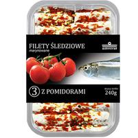 ADMIRAŁ Filety śledziowe z pomidorami