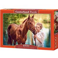 CASTORLAND Puzzle 1000 el. mix wzorów