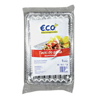 ECO+ Tacki do grilla aluminiowe