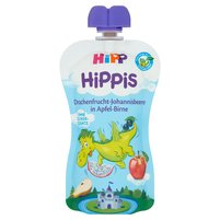 HiPP BIO HiPPiS Mus owocowy od 1. roku jabłka-gruszki-pitaja-porzeczki