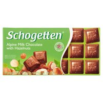 SCHOGETTEN Alpine Milk Chocolate with Hazelnuts Czekolada