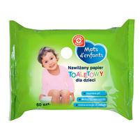 WIODĄCA MARKA Nawilżający papier toaletowy dla dzieci