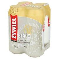 ŻYWIEC Białe Piwo pszeniczne 4 x 500 ml