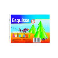 WIODĄCA MARKA Esquisse Papier kolorowy A5 samoprzylepny 8 kartek