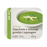 EAT ME! Zupa krem z zielonego groszku i szparagów