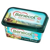 BENECOL Tłuszcz do smarowania z dodatkiem stanoli roślinnych z oliwą z oliwek