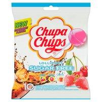 CHUPA CHUPS Lizaki wielosmakowe bez cukru (10 sztuk)