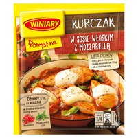 WINIARY Pomysł na... Kurczak w sosie włoskim z mozzarellą