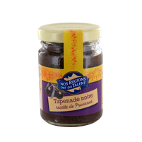 WIODĄCA MARKA Tapenade noire Pasta z czarnych oliwek
