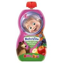 BoboVita Mus jagody i jabłka z bananem po 6 m-cu