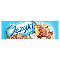 JEŻYKI Kokos Herbatniki w czekoladzie mlecznej