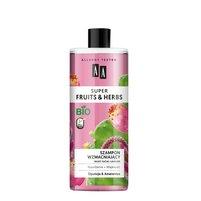 AA Super Fruits&Herbs szampon wzmacniający włosy suche i łamliwe opuncja&amarantus