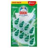 DUCK Active Clean Zawieszka do toalet o zapachu leśnym (2 x 38,6 g)