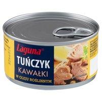 LAGUNA Tuńczyk kawałki w oleju roślinnym
