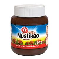 WIODĄCA MARKA Nustikao Krem orzechowo - kakaowy