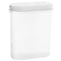 PLAST TEAM Pojemnik na żywność z dozownikiem 2,4L biały