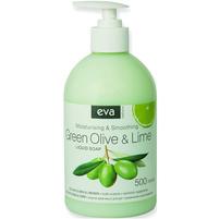 EVA Natura Mydło w płynie Zielona oliwka i Limonka