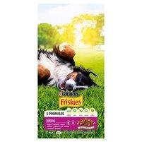 FRISKIES 5 Promises Maxi Karma dla dorosłych psów z wołowiną