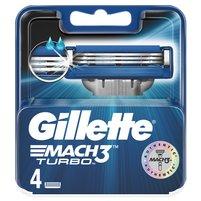GILLETTE Mach3 Turbo Wkłady do maszynki