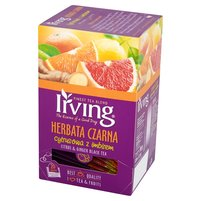 IRVING Herbata czarna cytrusowa z imbirem (20 tb.)