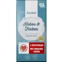 XUCKER Kokos & Flakes Czekolada biała z ksylitolem