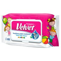 VELVET Junior Nawilżany papier toaletowy