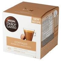NESCAFÉ Dolce Gusto Cortado Espresso Macchiato Kawa w kapsułkach (16 kaps.)