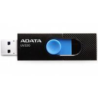 ADATA Pendrive 64GB USB 3.2 Gen1 UV320 czarno-niebieski