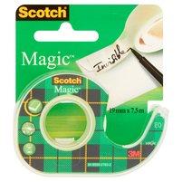SCOTCH Magic Taśma biurowa matowa z dyspenserem (19mm x 7,6m)