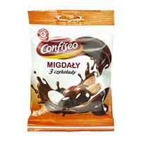 WIODĄCA MARKA Migdały w czekoladzie mix