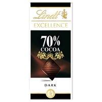 LINDT Excellence 70% Cocoa Czekolada ciemna