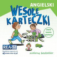 REA Angielski. Wesołe karteczki. Zielony bestseller (okładka miękka)