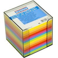 DONAU Kostka nieklejona w pudełku Karteczki 95x95x95mm Mix neonowych kolorów
