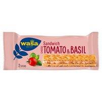 WASA Kanapka z serkiem pomidorami i bazylią (2 sztuki)