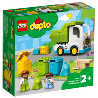 LEGO Duplo Śmieciarka i recykling 10945 (2+)