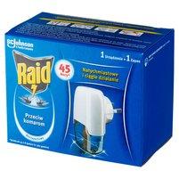RAID Elektrofumigator z płynem owadobójczym przeciw komarom bezzapachowy