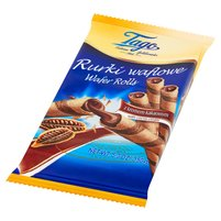 TAGO Rurki waflowe z kremem kakaowym