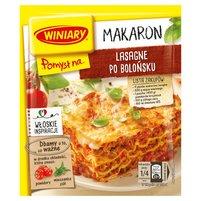 WINIARY Pomysł na... Makaron lasagne po bolońsku