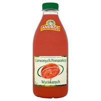 ANDROS 100% sok z czerwonych pomarańczy wyciskanych