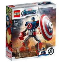 LEGO Super Heroes Marvel Avengers Classic Opancerzony mech Kapitana Ameryki 76168 (7+)