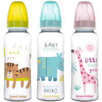 CANPOL BABIES Africa Butelka wąska (12m+) 250 ml mix
